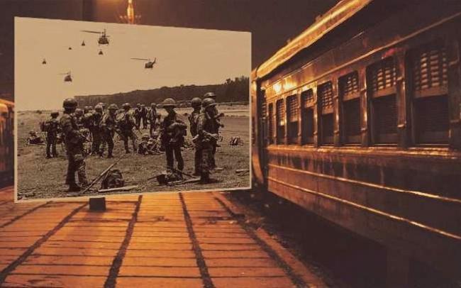 Người Lính Già Trên Chuyến Tàu Đêm - Nguyên Nhung