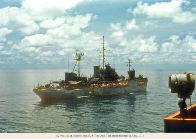 Cuộc Triệt Thoái Hải Quân Tuyệt Vời - Trần Văn