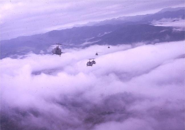 Một Lần Suýt Chết Vì Trực Thăng Bay Trong Mây - Song Chùy Th/hoang