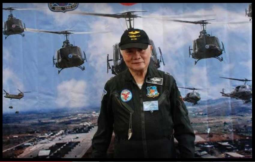 Trực Thăng Võ Trang - Không Lực VNCH - KQ Trung Tá Trương Thành Tâm