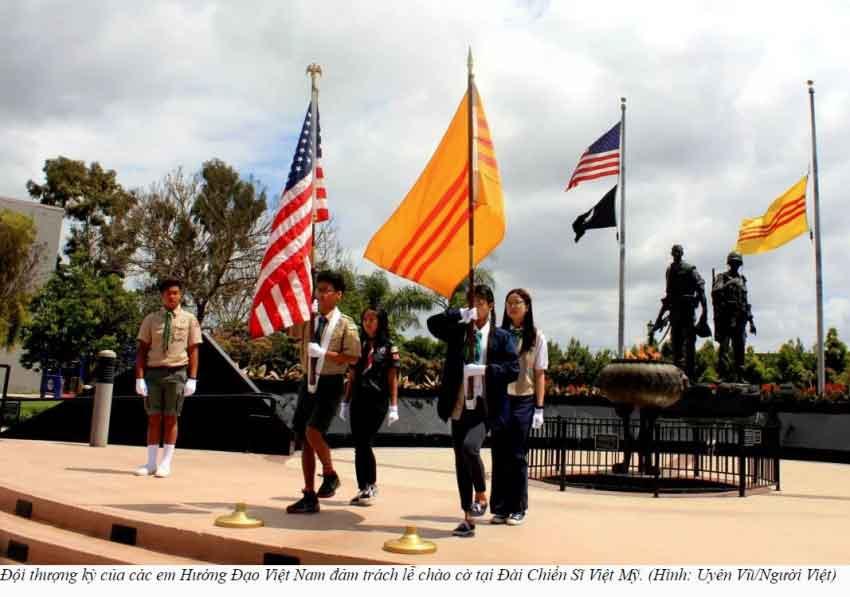 Giới trẻ Little Saigon tưởng niệm và hội thảo về 'Tháng Tư Đen' - Uyên Vũ/Người Việt