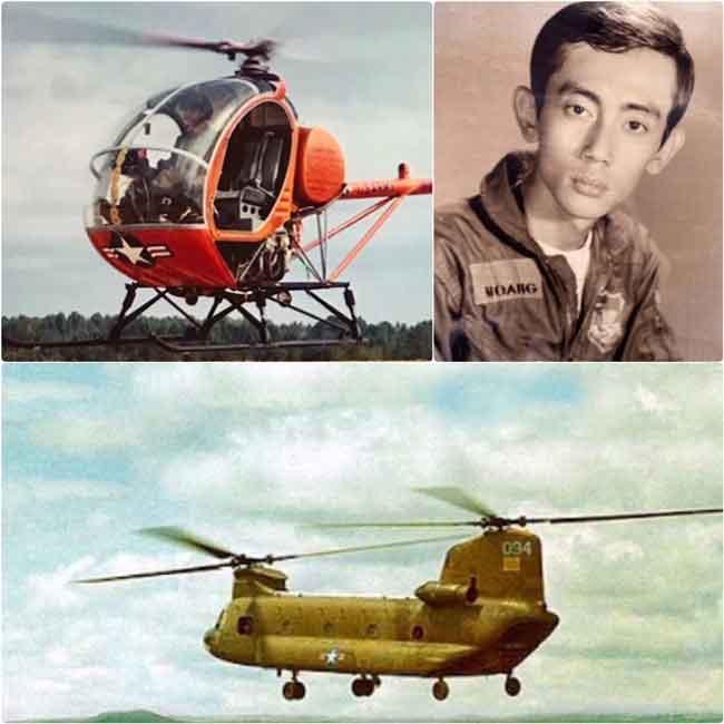 Viết Về Một Người Bạn Vừa Nằm Xuống Cựu Phi Công CH-47 Chinook Ngô Kim Hoàng - Trần Đình Phước