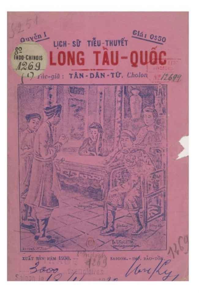 Gia Long Tẩu Quốc - Tân Dân Tử - Quyển 1