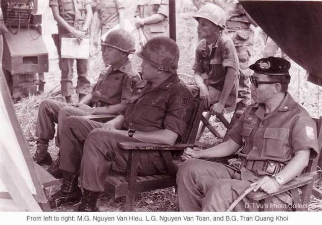 CHÂN DUNG NGƯỜI CHIẾN SĨ GIAI ĐOẠN 1974-1975 - Trần Quang Khôi