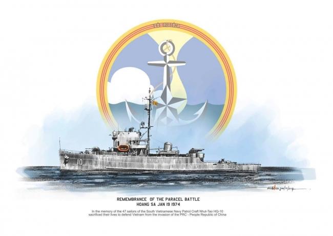 Hộ Tống Hạm Nhật Tảo HQ10 và Hải Chiến Hoàng Sa - Thềm Sơn Hà