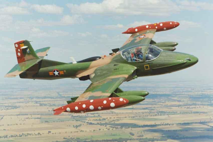 Phi cơ O-1 và A-37 của Không Quân VNCH tại Úc - Nguyễn Hữu Thiện