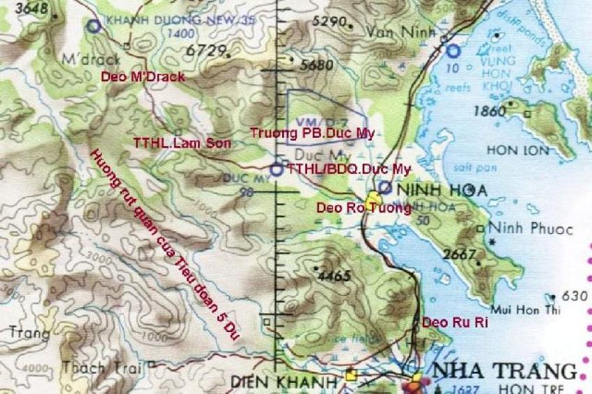 Trận M'Drack của Lữ Đoàn 3 Dù - Bùi Anh Trinh